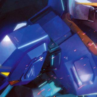 Chara robot blue iPhone5s / iPhone5c / iPhone5 Wallpaper