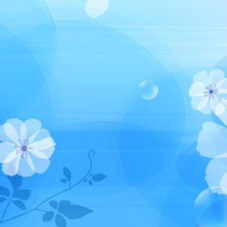 Women for  flower  blue iPhone5s / iPhone5c / iPhone5 Wallpaper