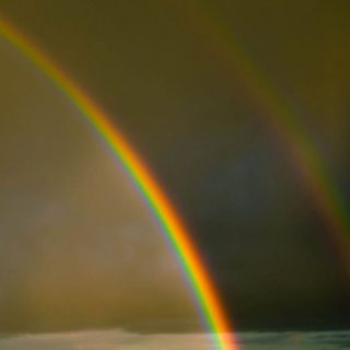 Landscape rainbow iPhone5s / iPhone5c / iPhone5 Wallpaper