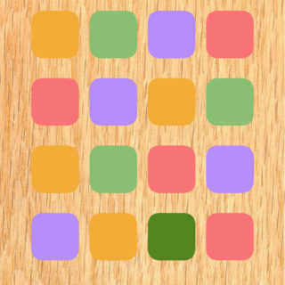 Cute colorful wood shelf for women iPhone5s / iPhone5c / iPhone5 Wallpaper