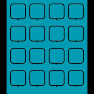 Simple blue black shelf iPhone5s / iPhone5c / iPhone5 Wallpaper