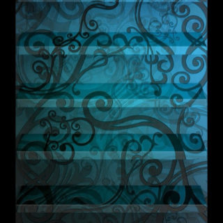 shelf  blue  flower iPhone5s / iPhone5c / iPhone5 Wallpaper
