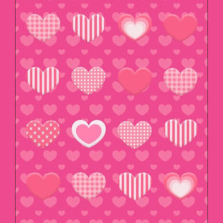 Women's cute red shelf Heart iPhone5s / iPhone5c / iPhone5 Wallpaper