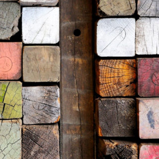 Timber colorful cool iPhone5s / iPhone5c / iPhone5 Wallpaper