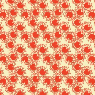 Pattern sunflower red women-friendly iPhone5s / iPhone5c / iPhone5 Wallpaper