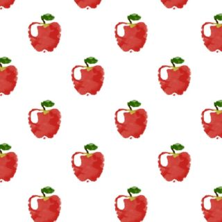 Pattern illustration fruit apple red women-friendly iPhone5s / iPhone5c / iPhone5 Wallpaper