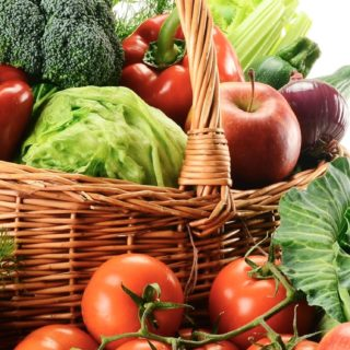 Vegetable Food red green colorful iPhone5s / iPhone5c / iPhone5 Wallpaper