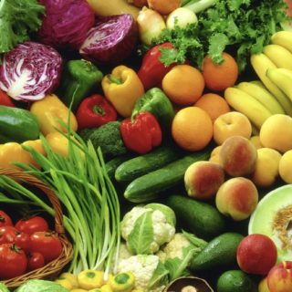 Vegetables colorful green food iPhone5s / iPhone5c / iPhone5 Wallpaper