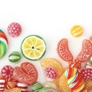 Women for food candy colorful candy iPhone5s / iPhone5c / iPhone5 Wallpaper