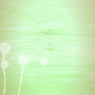 Wood grain gradation waterdrop Green iPhone5s / iPhone5c / iPhone5 Wallpaper