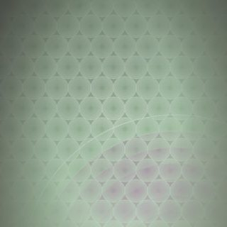 Dot pattern gradation circle Green iPhone5s / iPhone5c / iPhone5 Wallpaper