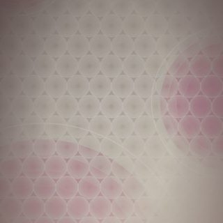 Dot pattern gradation circle Red iPhone5s / iPhone5c / iPhone5 Wallpaper