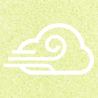 Cloudy wind Yellow green iPhone5s / iPhone5c / iPhone5 Wallpaper