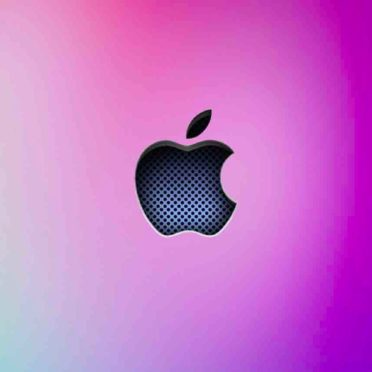 Apple logo cool blue  purple gin iPhone6s / iPhone6 Wallpaper