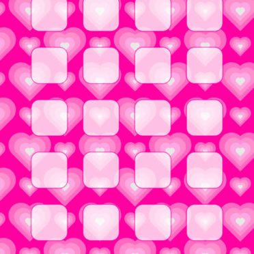 Heart pattern peach girls and woman for shelf iPhone6s / iPhone6 Wallpaper