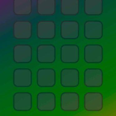 Shelf colorful green purple iPhone6s / iPhone6 Wallpaper