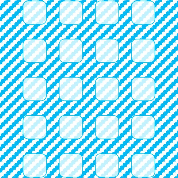 Pattern white water blue shelf iPhone6s Plus / iPhone6 Plus Wallpaper