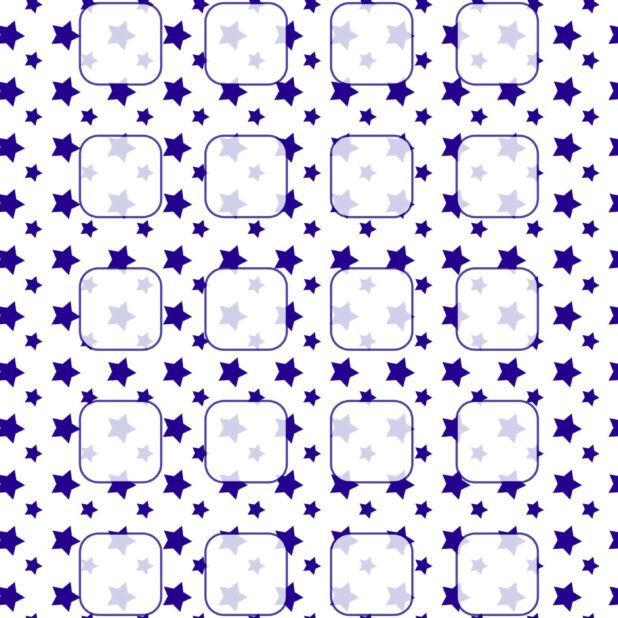 White star pattern blue navy blue shelf iPhone6s Plus / iPhone6 Plus Wallpaper