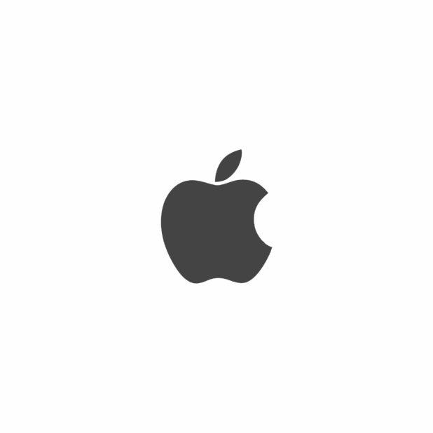 Apple logo black and white iPhone6s Plus / iPhone6 Plus Wallpaper