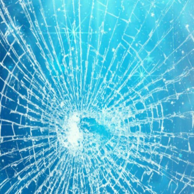 Glass crack iPhone7 Plus Wallpaper