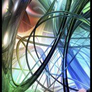 Spiral Geometry iPhone8 Wallpaper