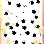 Heart monochrome iPhone8 Wallpaper