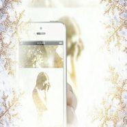 Women smartphone iPhone8 Wallpaper