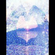 Heart Landscape iPhone8 Wallpaper