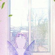 Window side fairy iPhone8 Wallpaper
