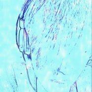 Man sketch iPhone8 Wallpaper