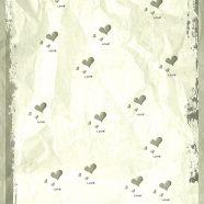 Heart gray iPhone8 Wallpaper