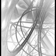 Spiral White iPhone8 Wallpaper
