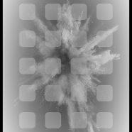 Explosive gray iPhone8 Wallpaper