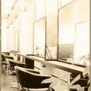 Beauty salon monochrome iPhone8 Wallpaper