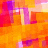 Orange pattern iPhone8 Wallpaper