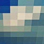 Pattern blue ash iPhone8 Wallpaper