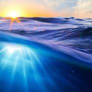Landscape sea sun iPhone8 Wallpaper