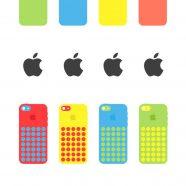 AppleiPhone5c colorful iPhone8 Wallpaper