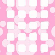 Polka dot pattern for girls  pink  shelf iPhone8 Wallpaper