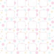 Pattern illustrations  pink  shelf  for girls iPhone8 Wallpaper