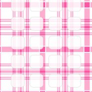 Check  pink  shelf  pattern for girls iPhone8 Wallpaper