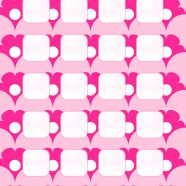 Pattern illustrations  flower  pink  shelf for women iPhone8 Wallpaper