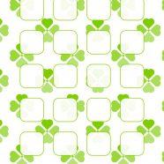 Green clover pattern for women's shelf iPhone8 Wallpaper