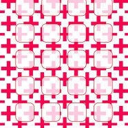 Pattern red white shelf for women iPhone8 Wallpaper