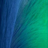 Landscape wave Mavericks blue green iPhone8 Wallpaper