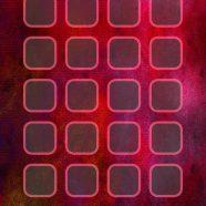 Cool shelf apple red purple flowers iPhone8 Wallpaper