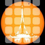 Illustrations tower orange shelf iPhone8 Wallpaper