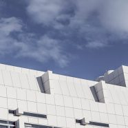 Landscape building sky clouds iPhone8 Wallpaper