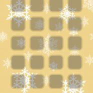 Christmas gold  shelf iPhone8 Wallpaper