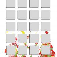 Shelf Christmas tree colorful silver woman iPhone8 Wallpaper